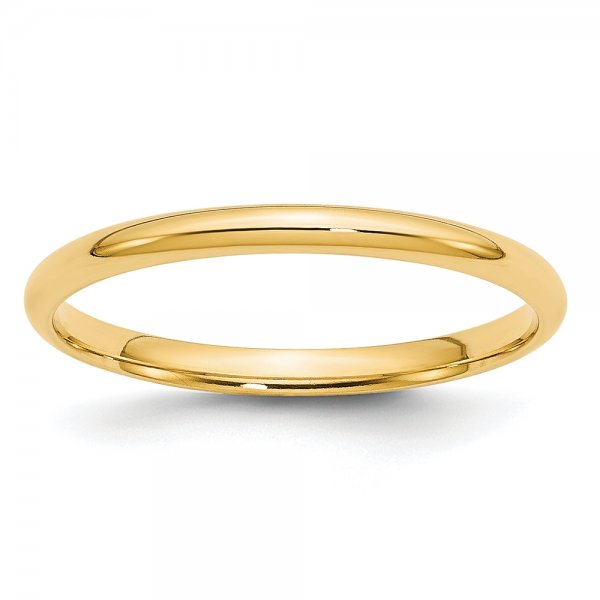 14k Yellow Gold LTW Comfort Fit Band