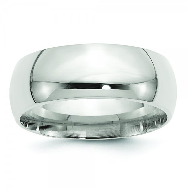 Sterling Silver Comfort Fit Band